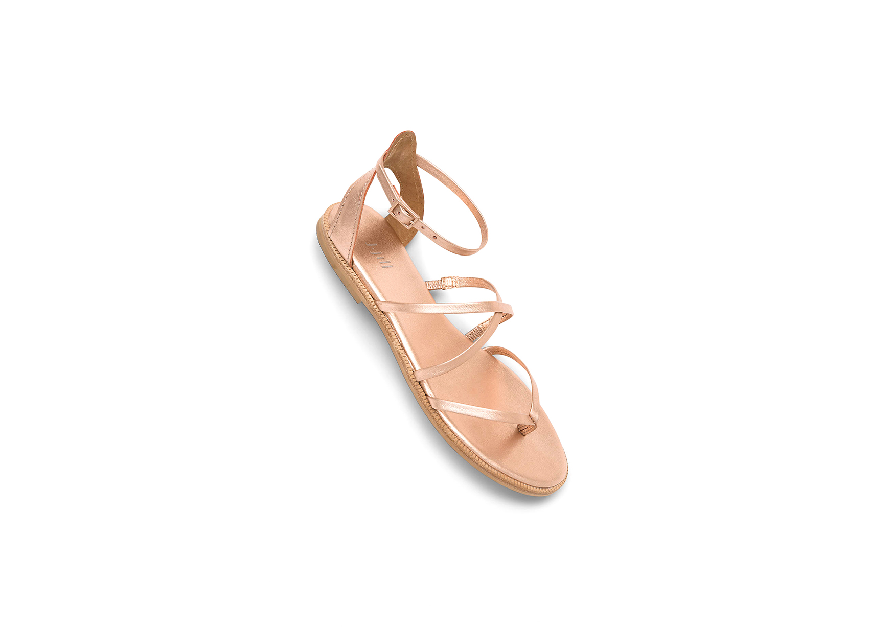 J.Jill Rose Gold Strappy Sandals