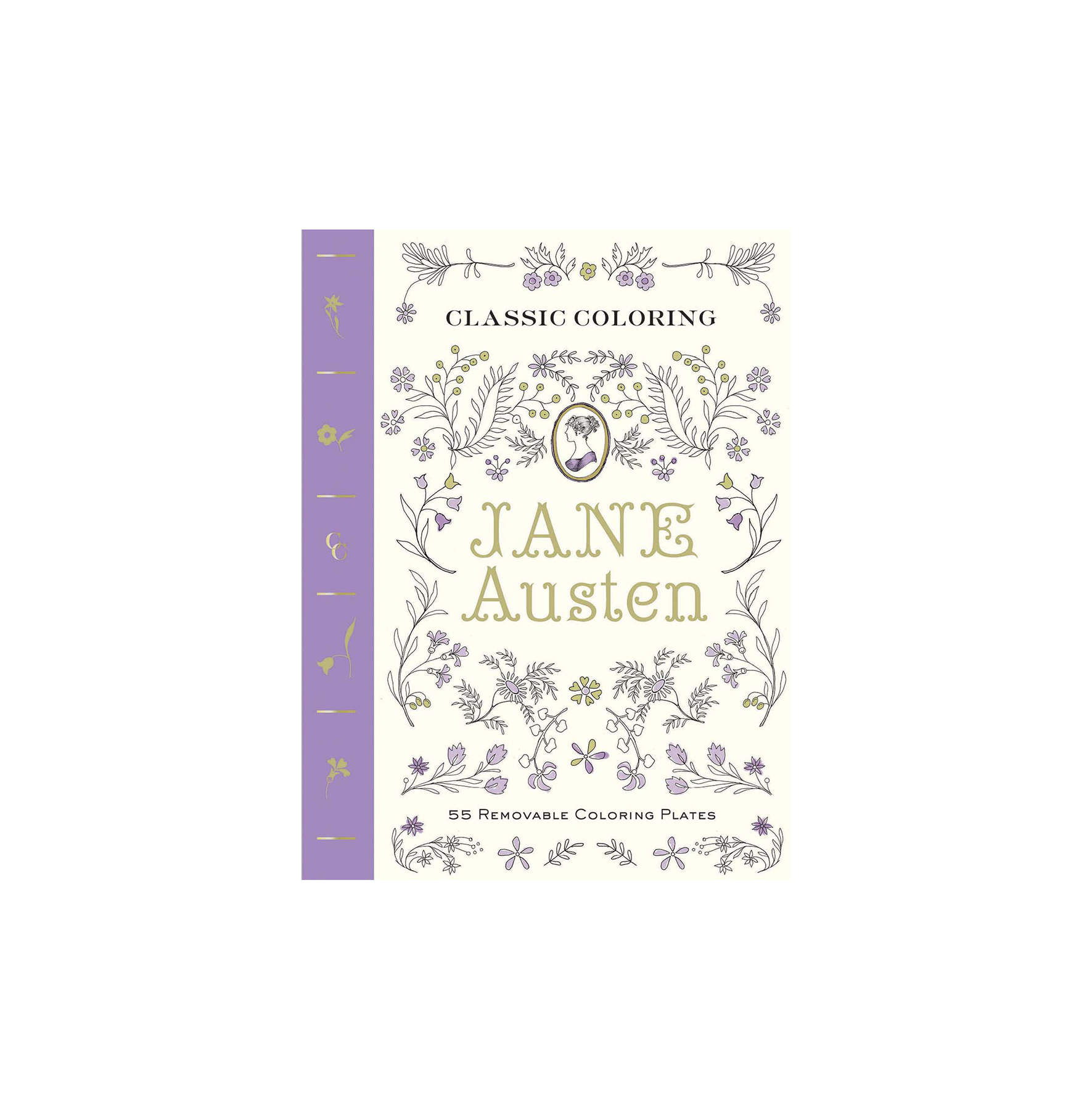 Classic Coloring: Jane Austen (Adult Coloring Book)