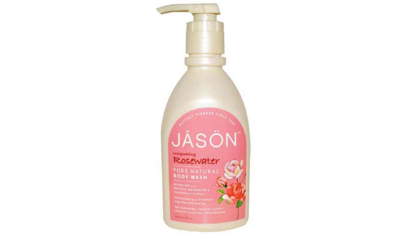 Jāsön Invigorating Rosewater Body Wash