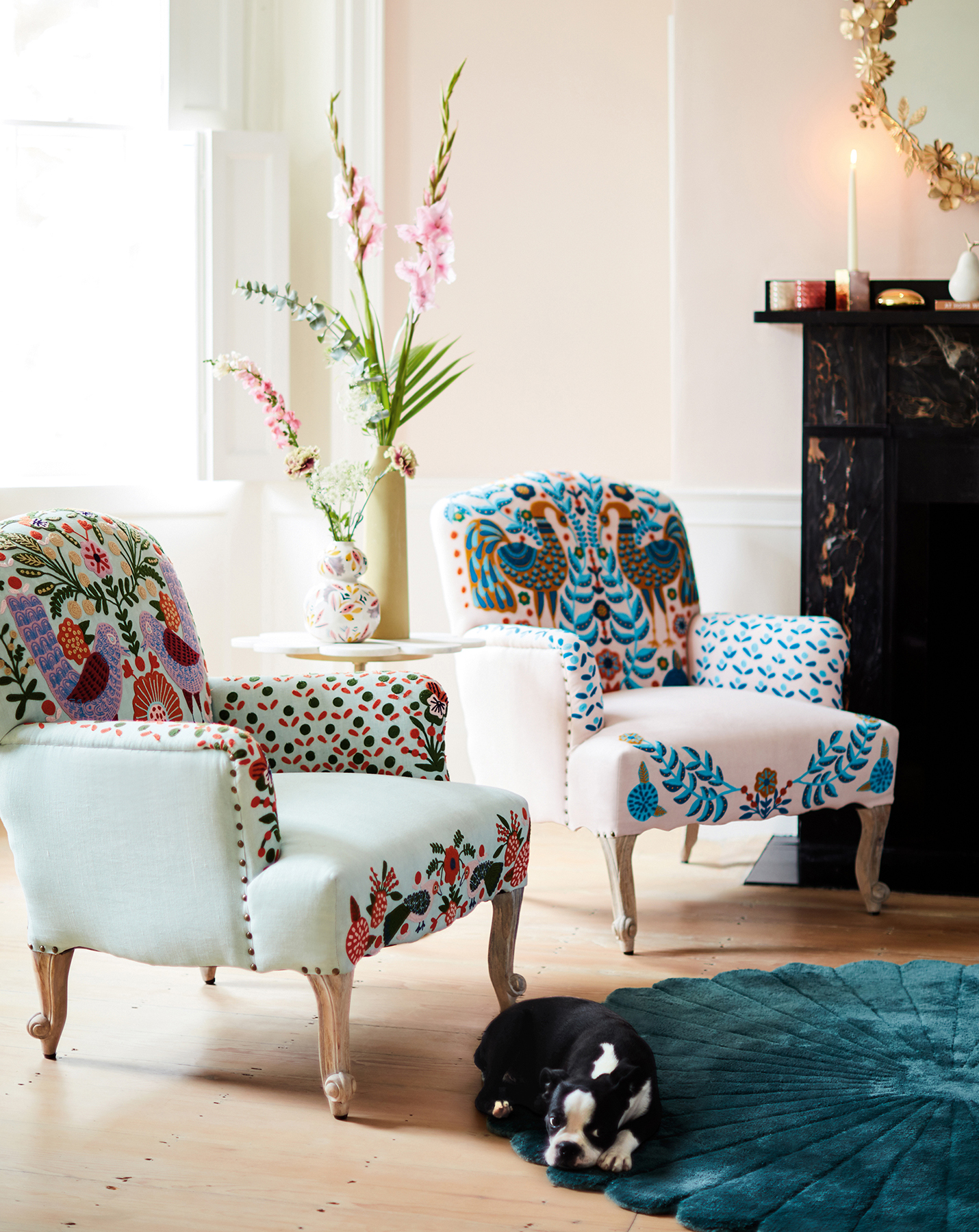 Eclectic Jimena Occasional Chairs
