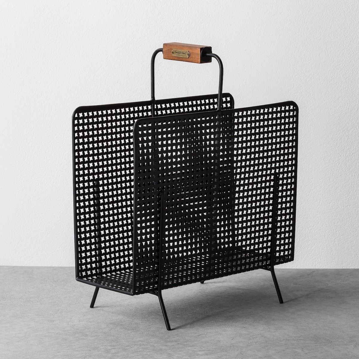 Joanna Gaines Target Fall Collection, black magazine rack