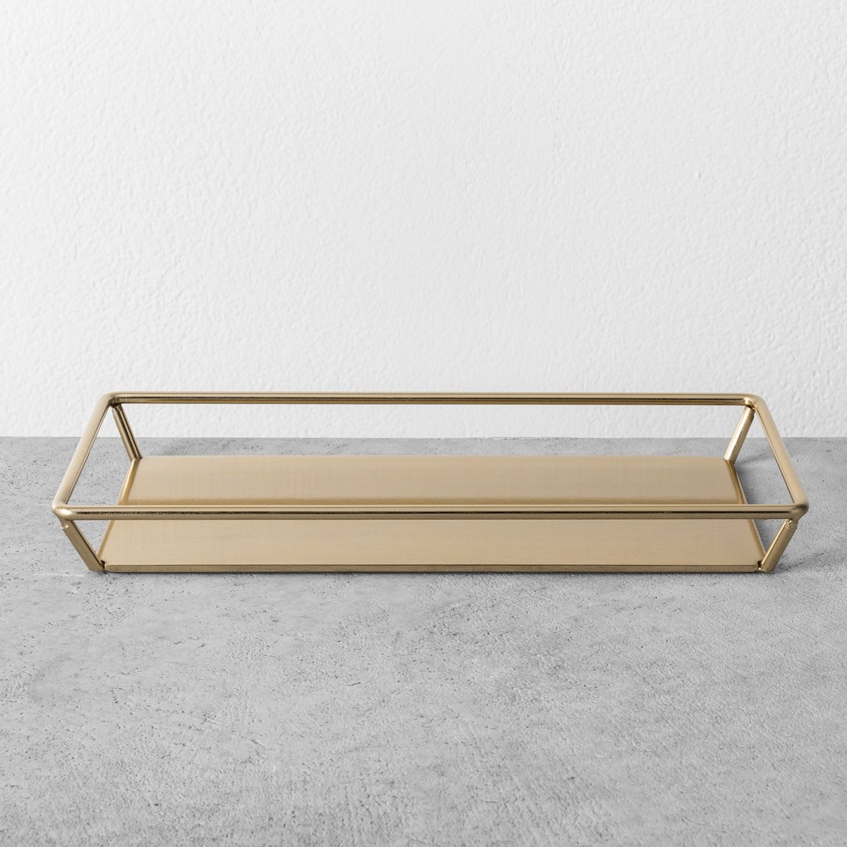 Joanna Gaines Target Fall Collection, brass bathroom tray