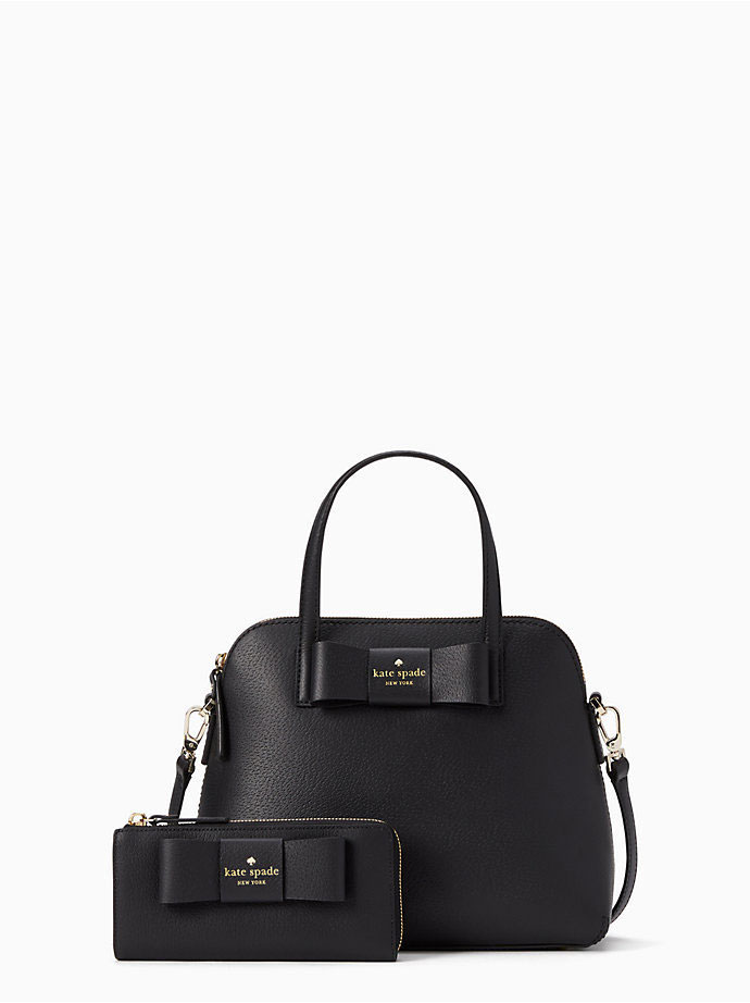 Kate Spade black wallet and bag set