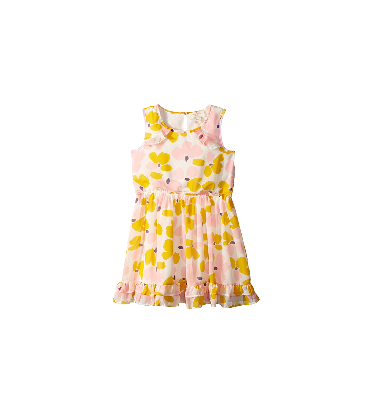 Kate Spade New York Kids Ruffled Hem Dress