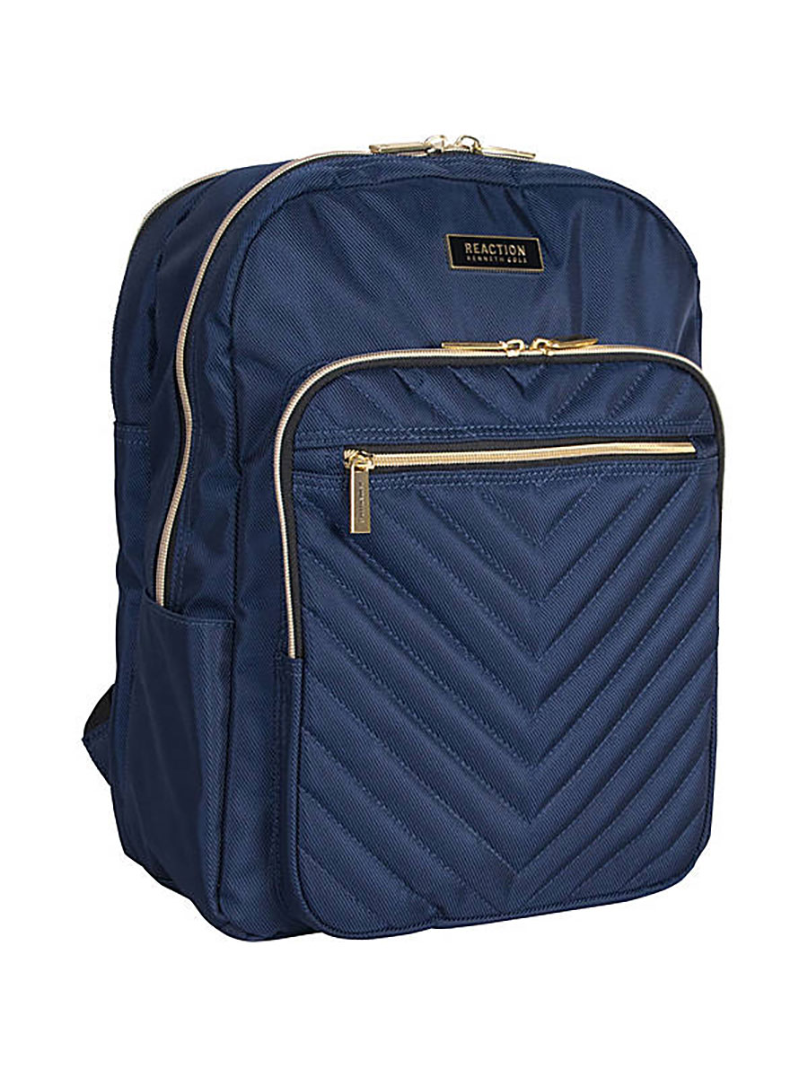 Kenneth Cole Reaction Chevron Quilted Computer Backpack