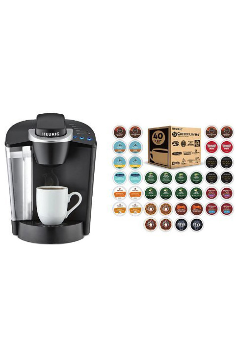 40 percent off Keurig K55 and K-Cups.