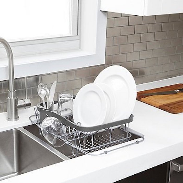 Kitchen Storage Hacks, Over the Sink drying rack