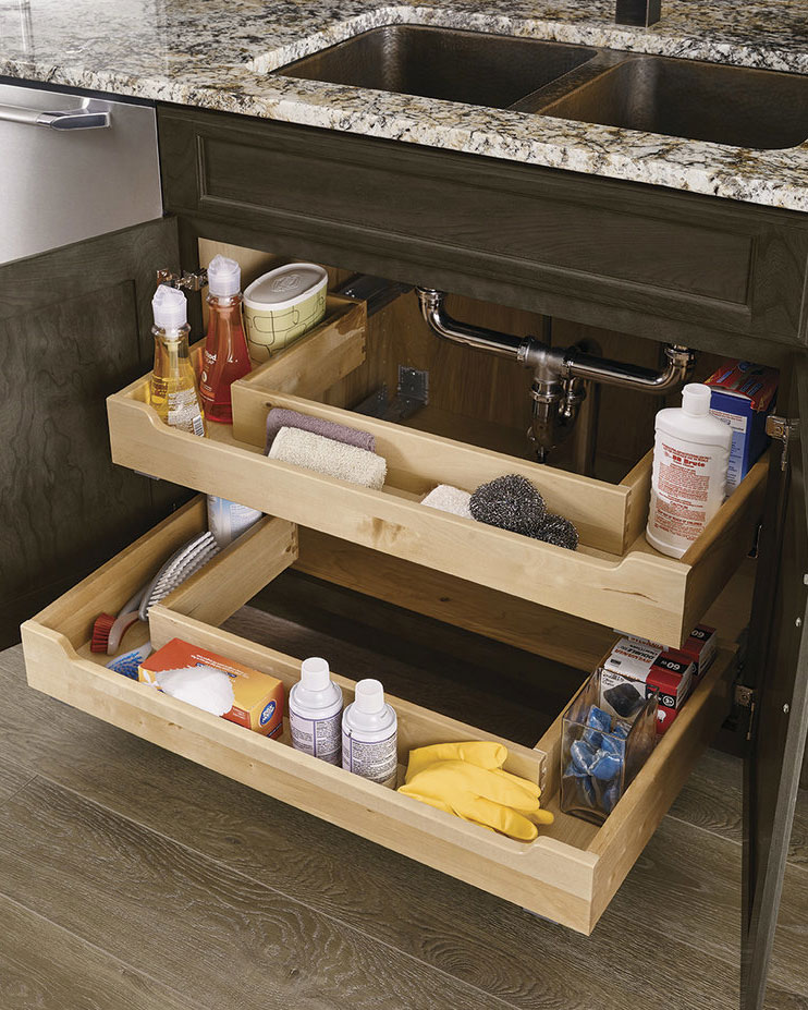 Kraft-Maid Sink Base Roll-Out Trays