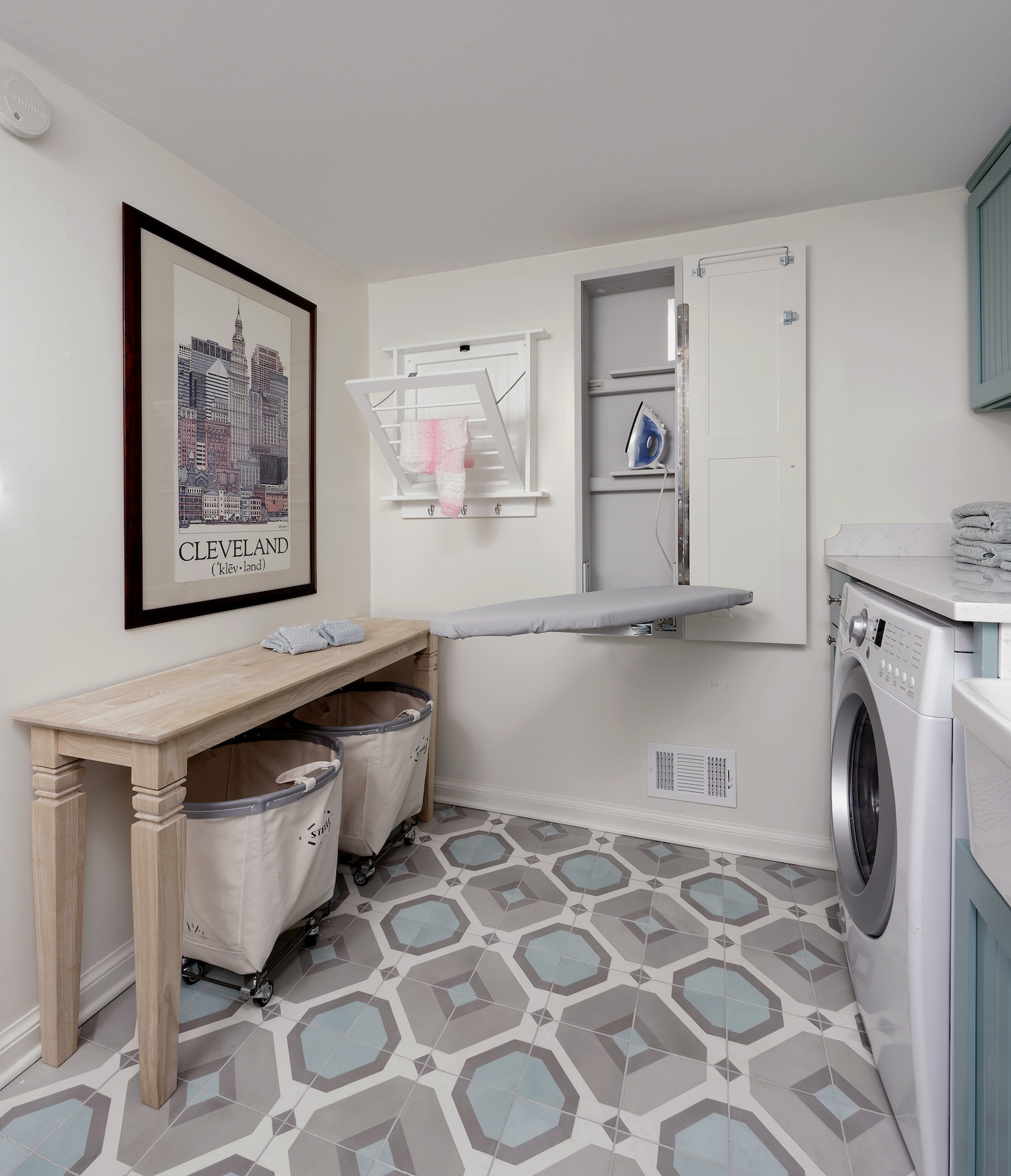 Clever Organizing Ideas to Steal From This Incredible Laundry Room