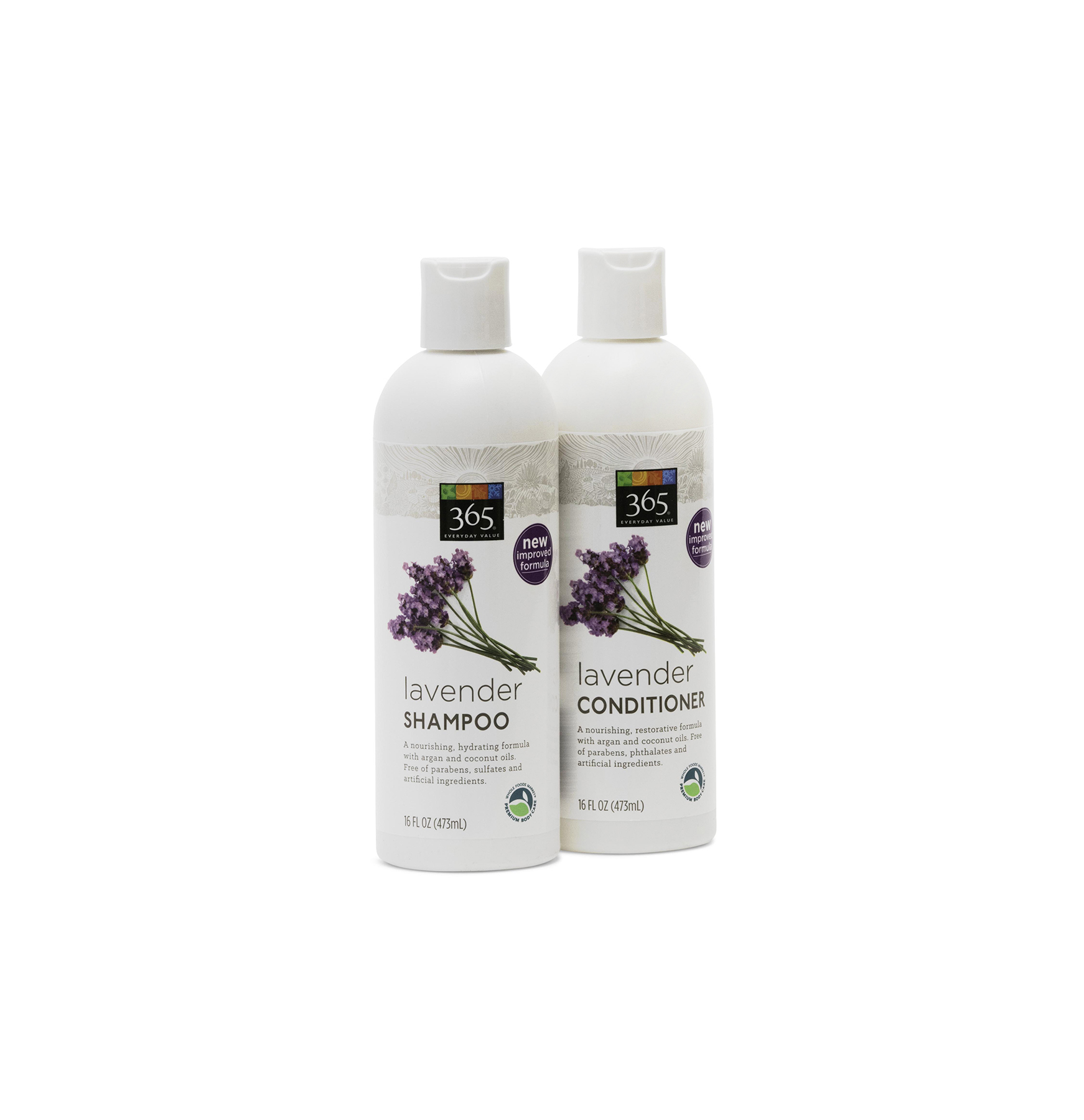 Whole Foods 365 Lavender Shampoo and Conditioner