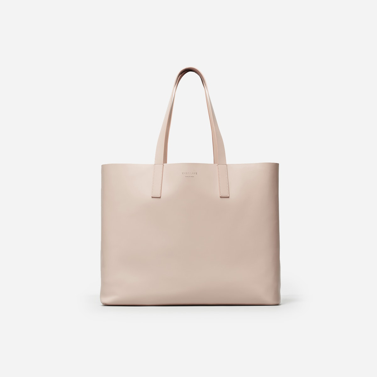 Everlane Leather Market Tote in blush