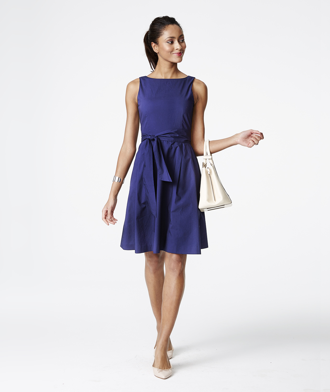 L.L. Bean Signature Poplin Dress