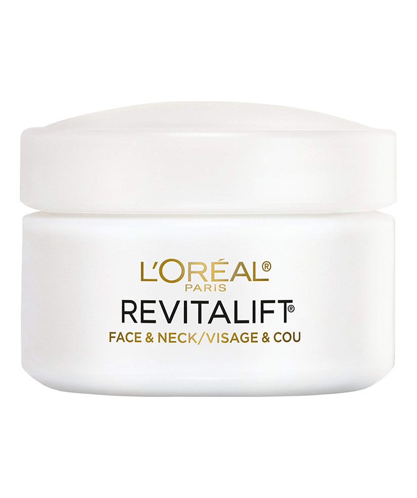 L'Oreal Paris Skincare Revitalift Anti-Wrinkle and Firming Face and Neck Moisturizer with Pro-Retinol