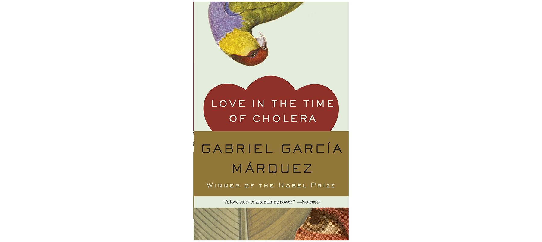 Cover of Love in the Time of Cholera, by Gabriel Garcia Marquez