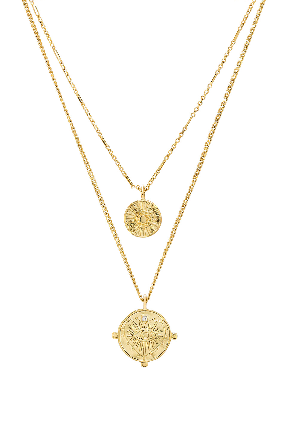 Luv AJ Gold Layering Necklace