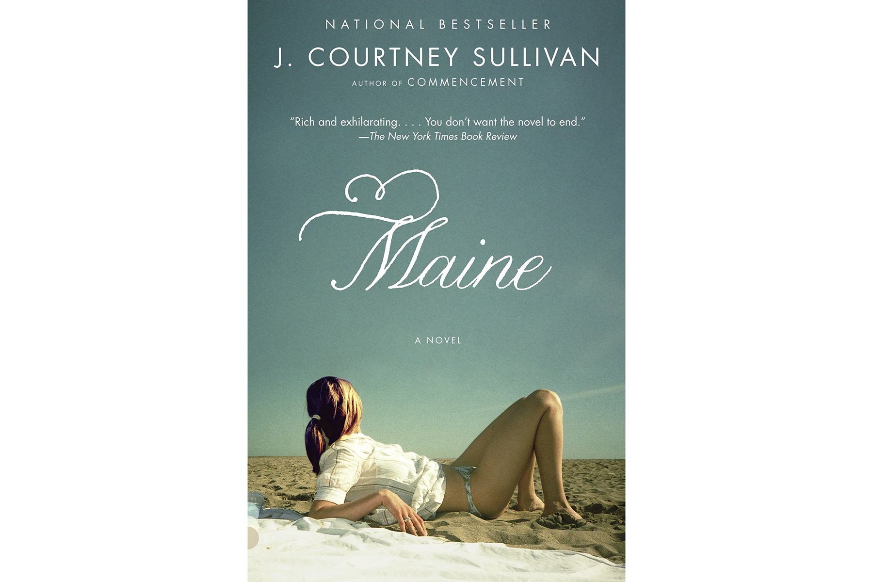 Cover of Maine, by J. Courtney Sullivan