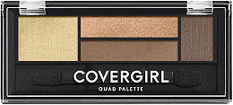CoverGirl Eyeshadow Quads in Go for the Golds