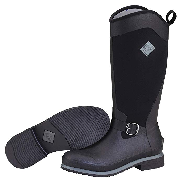 tall rubber women's riding boot by Muck Boots
