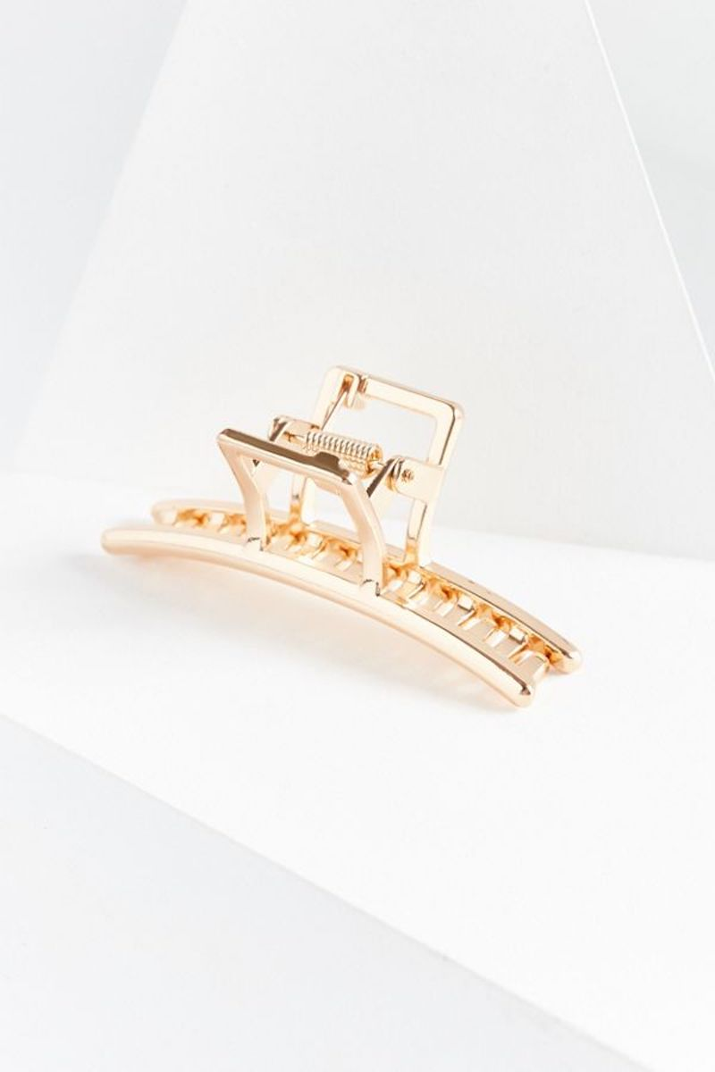 Gold Metal Claw Clip