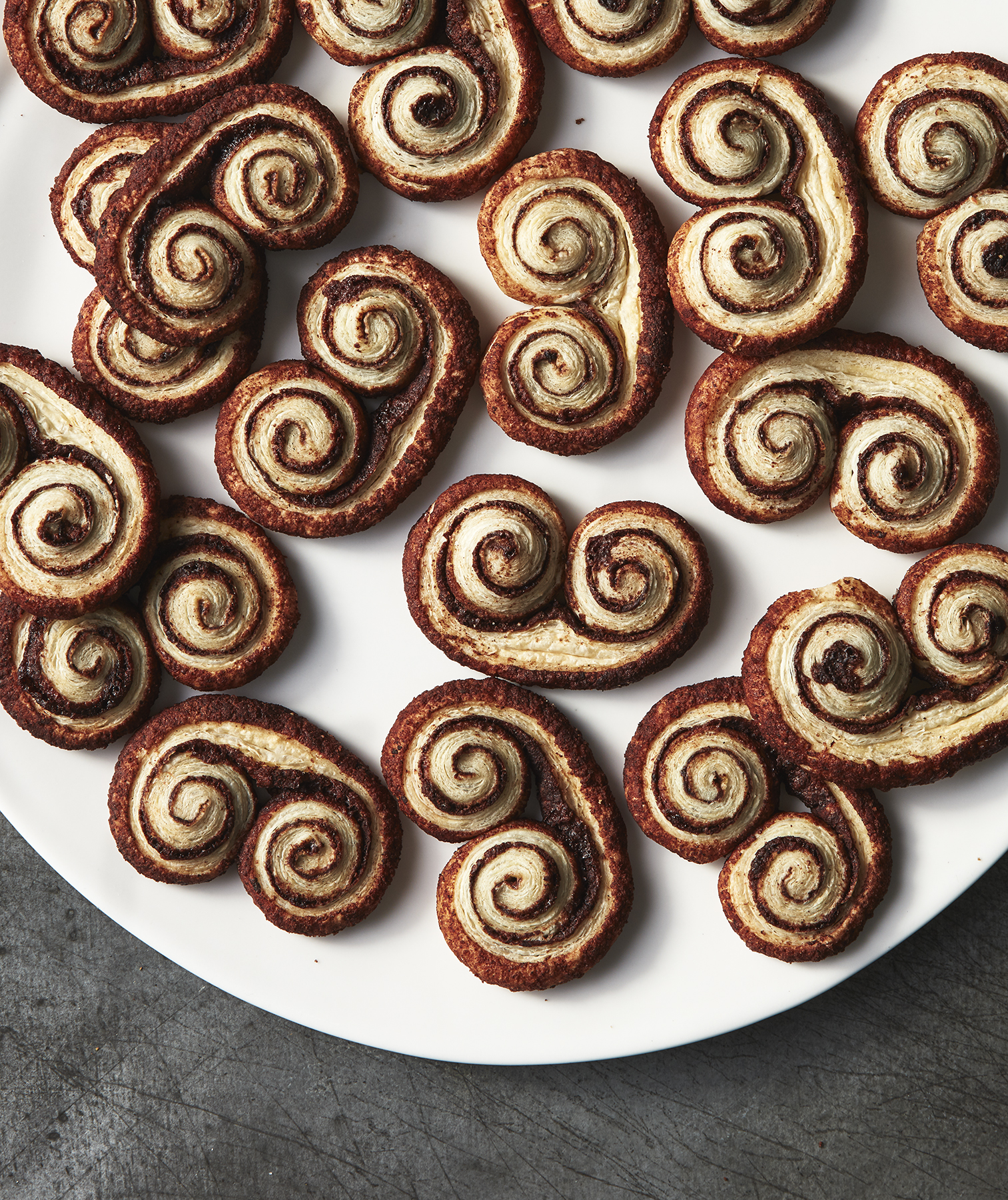 Puff Pastry Mexican Chocolate Sweethearts