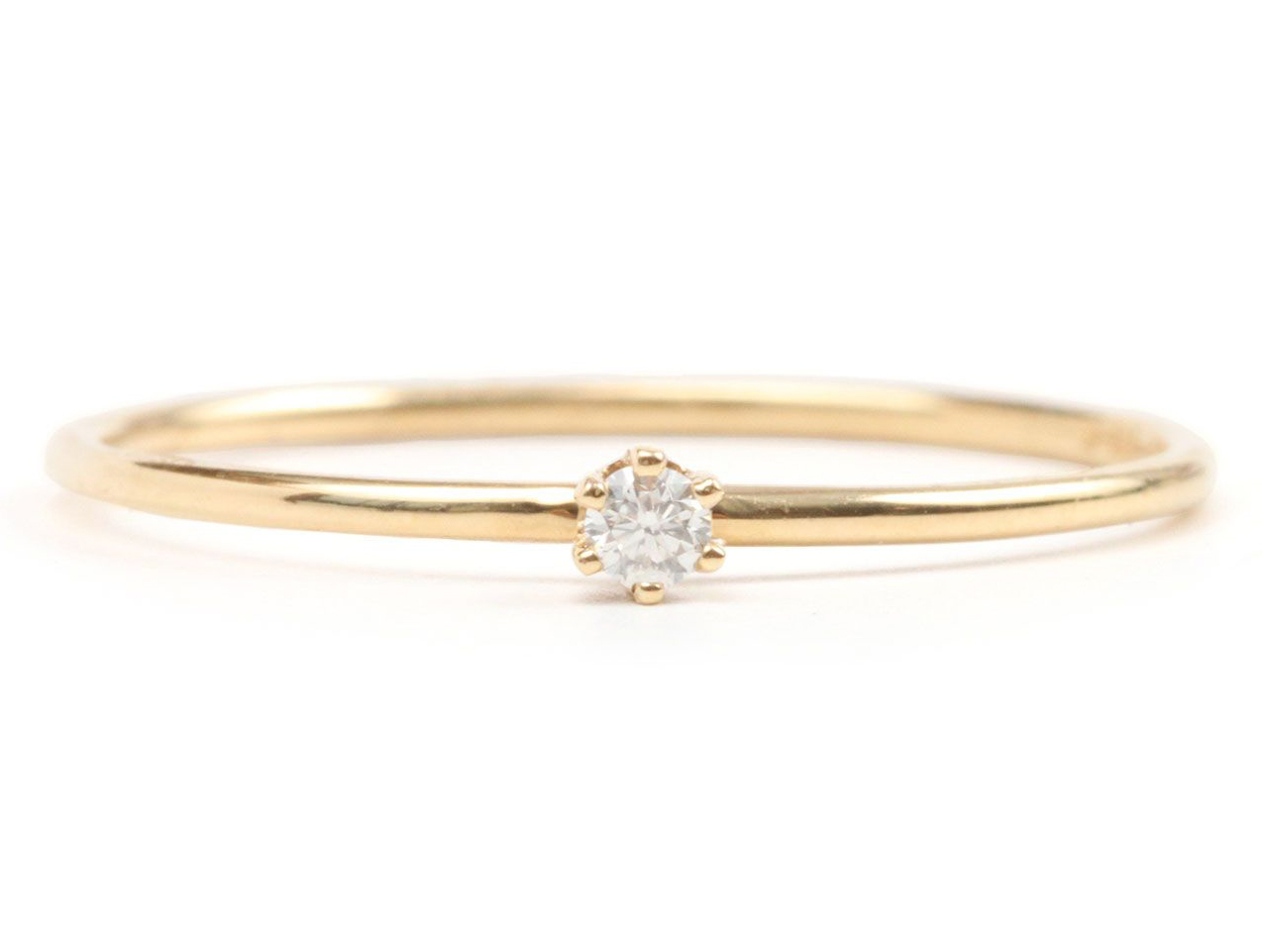 14 Minimalist Engagement Rings That Are Easy To Wear Every Day Real Simple