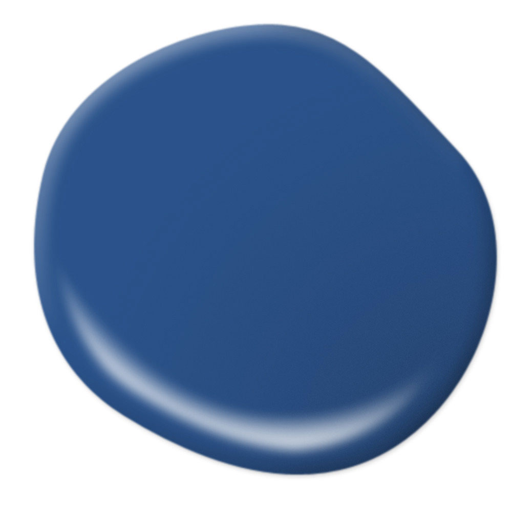 Mood-Boosting Behr Paint Colors - Flashy Sapphire
