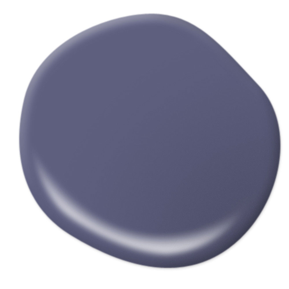 Mood-Boosting Behr Paint Colors - Strong Iris