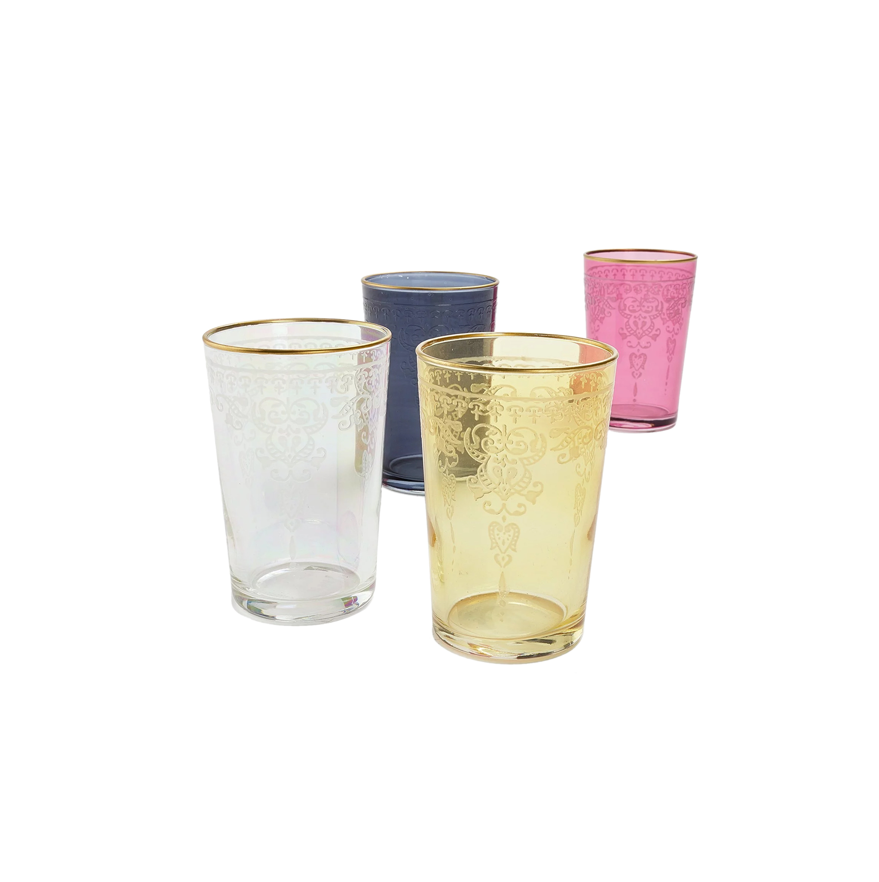Moroccan Glass Cups