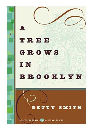 A Tree Grows in Brooklyn, by Betty Smith book cover