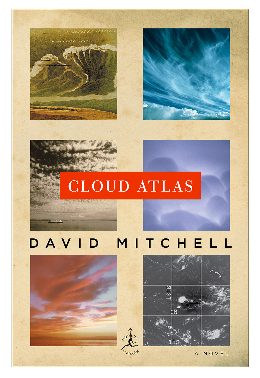 Cloud Atlas, by David Mitchell book cover