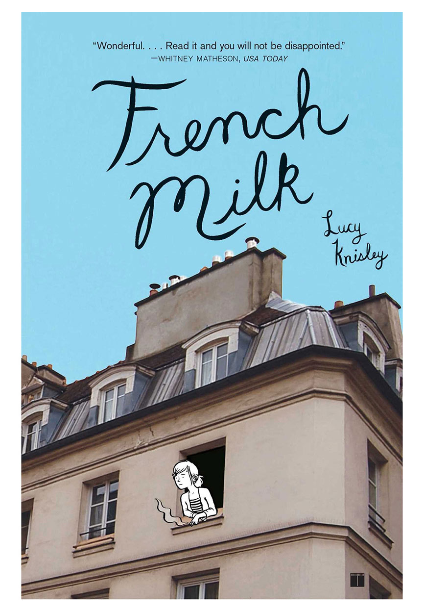 French Milk, by Lucy Knisley book cover
