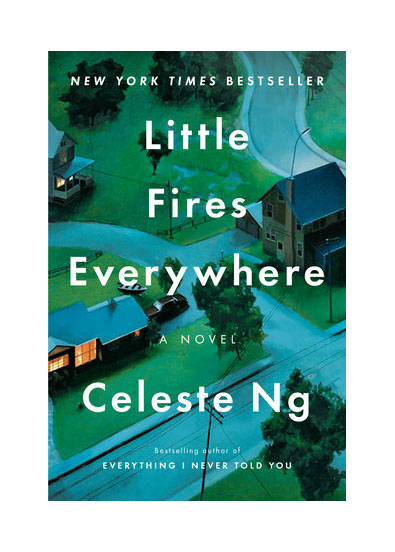 Mother-daughter books - Little Fires Everywhere, by Celeste Ng cover