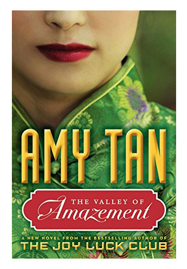 The Valley of Amazement, by Amy Tan book cover