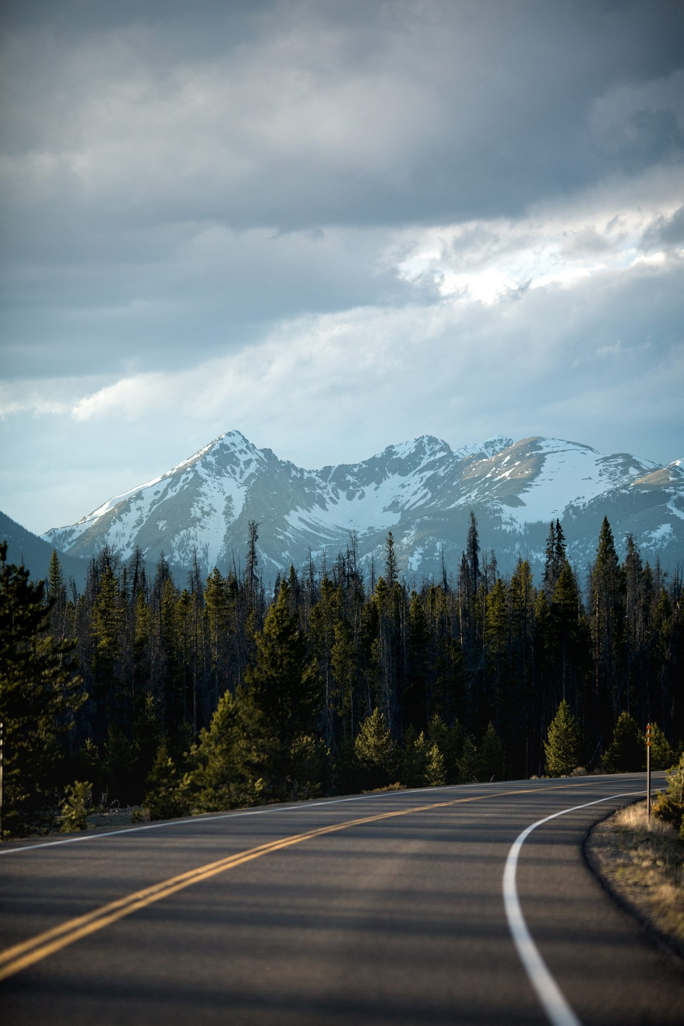 The Open Roads and Moutains