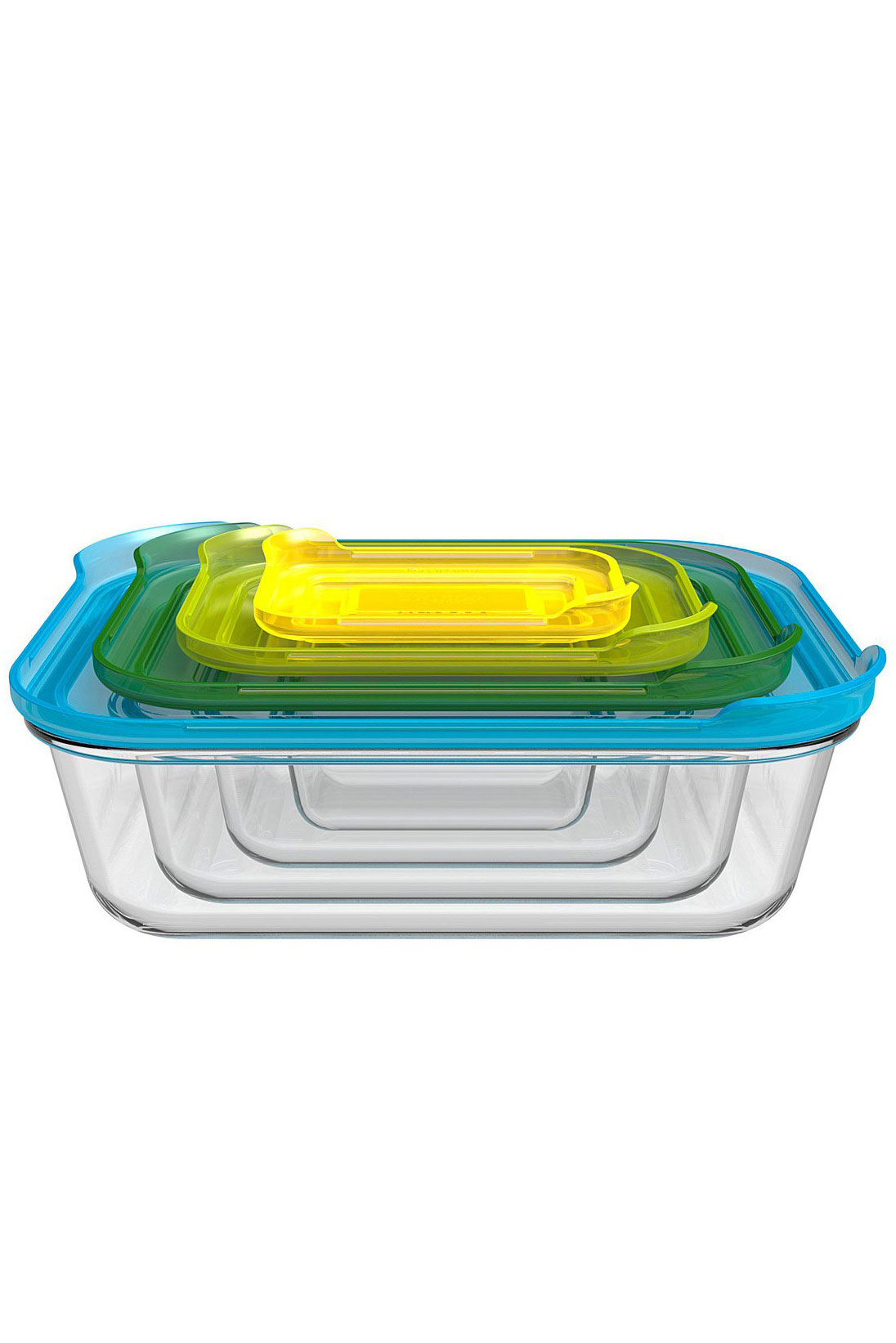 Nesting Glass Storage Containers