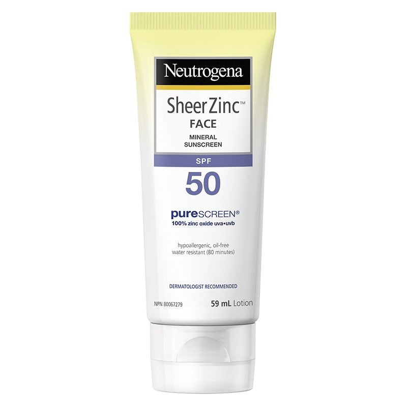 Neutrogena Sheer Zinc Face Lotion