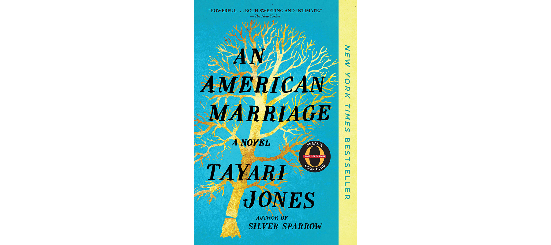 Cover of An American Marriage, by Tayari Jones