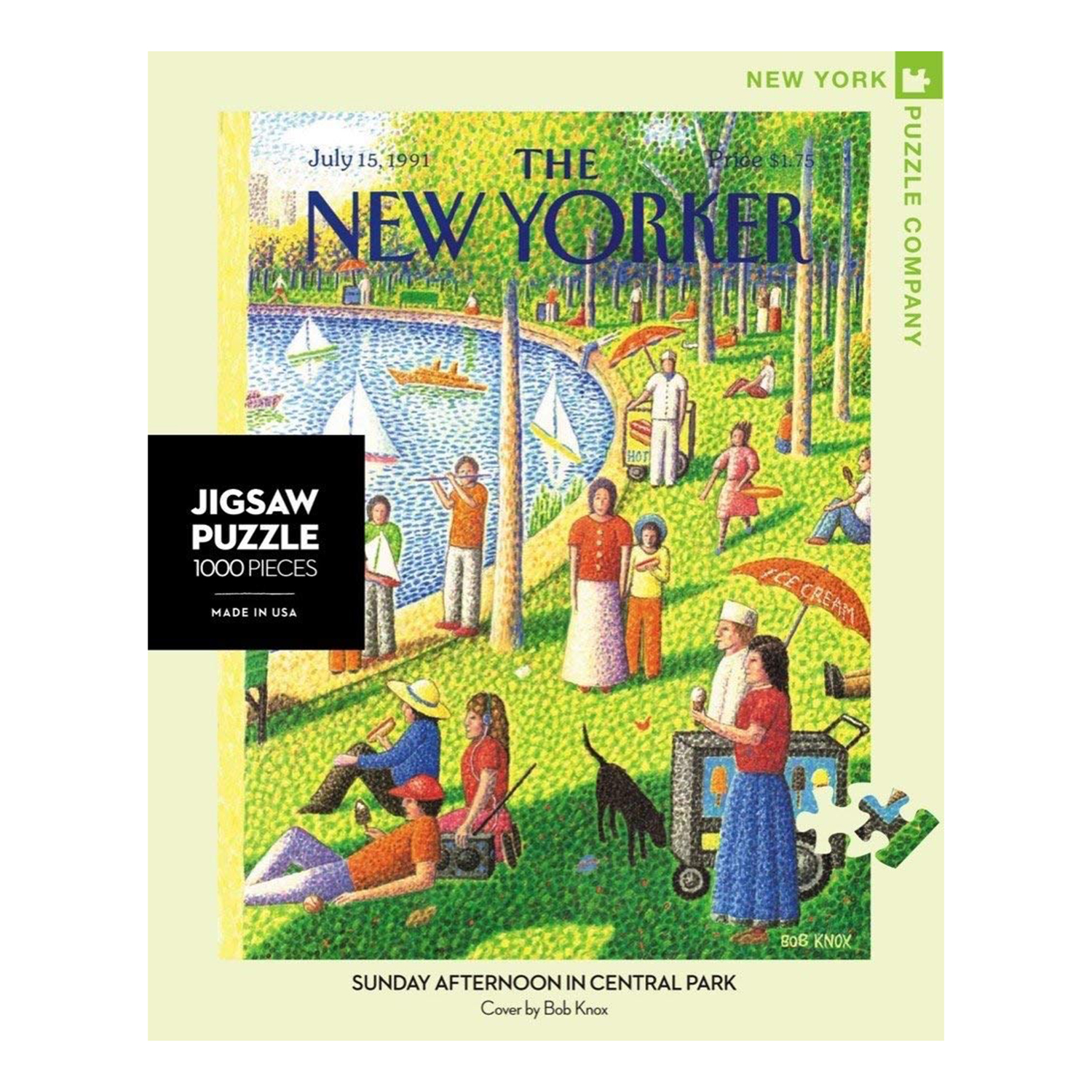 New York Puzzle Company New Yorker Sunday Afternoon in Central Park