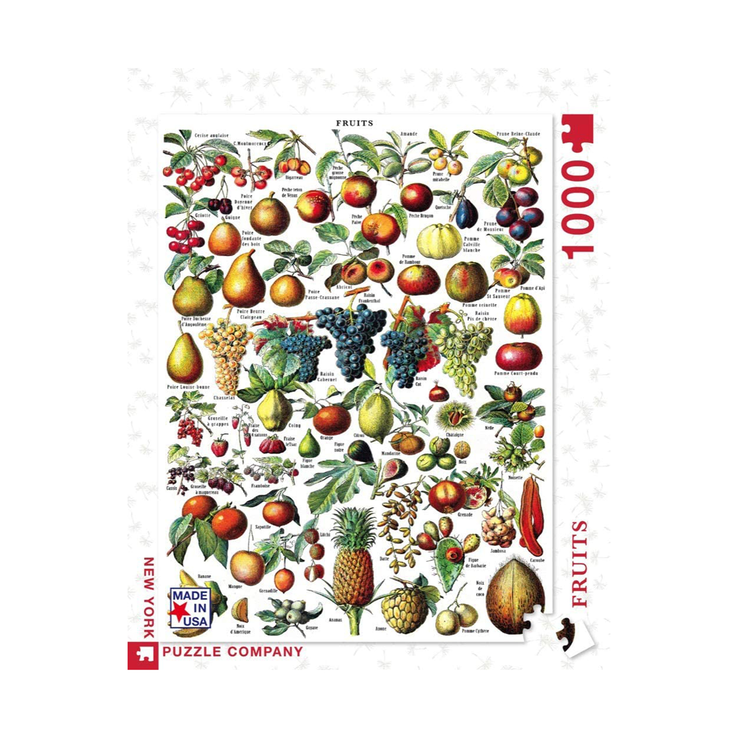 New York Puzzle Company - Vintage Images Fruits