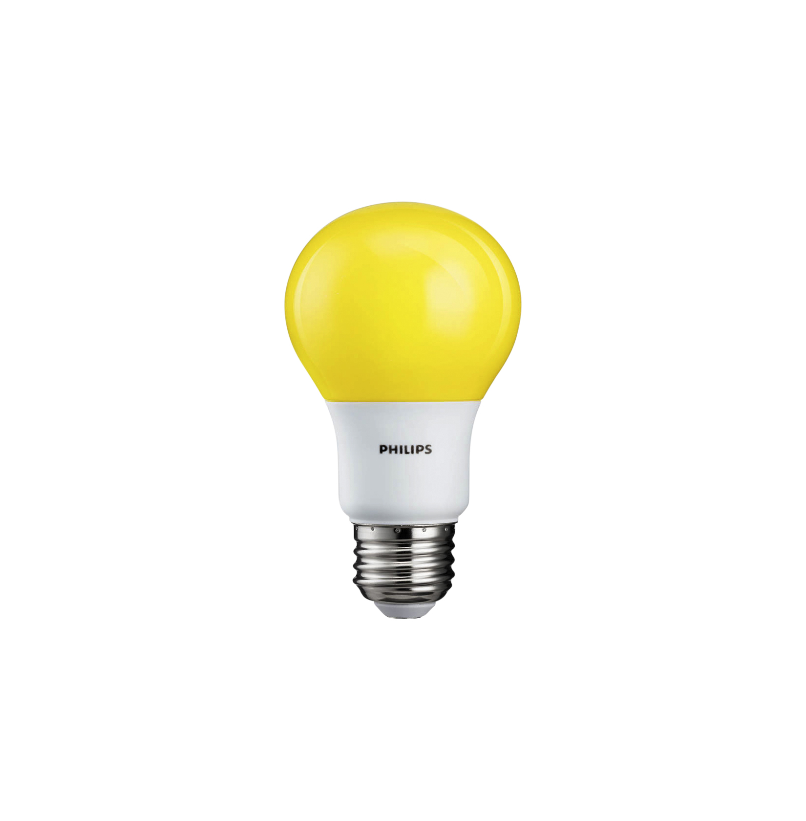 Philips 60W equivalent yellow LED bug-light bulb