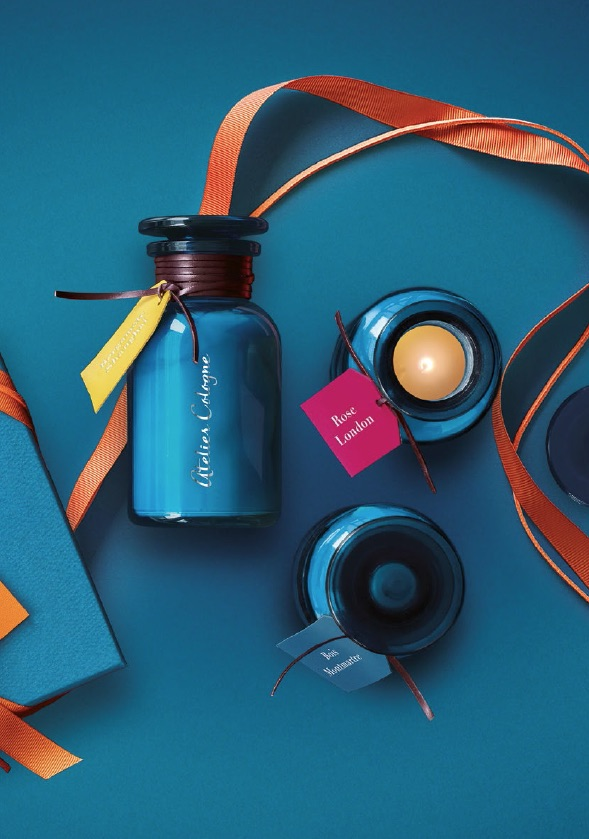 Valentine's Day Gift Ideas to Treat Yourself, Unique Candle in blue jar