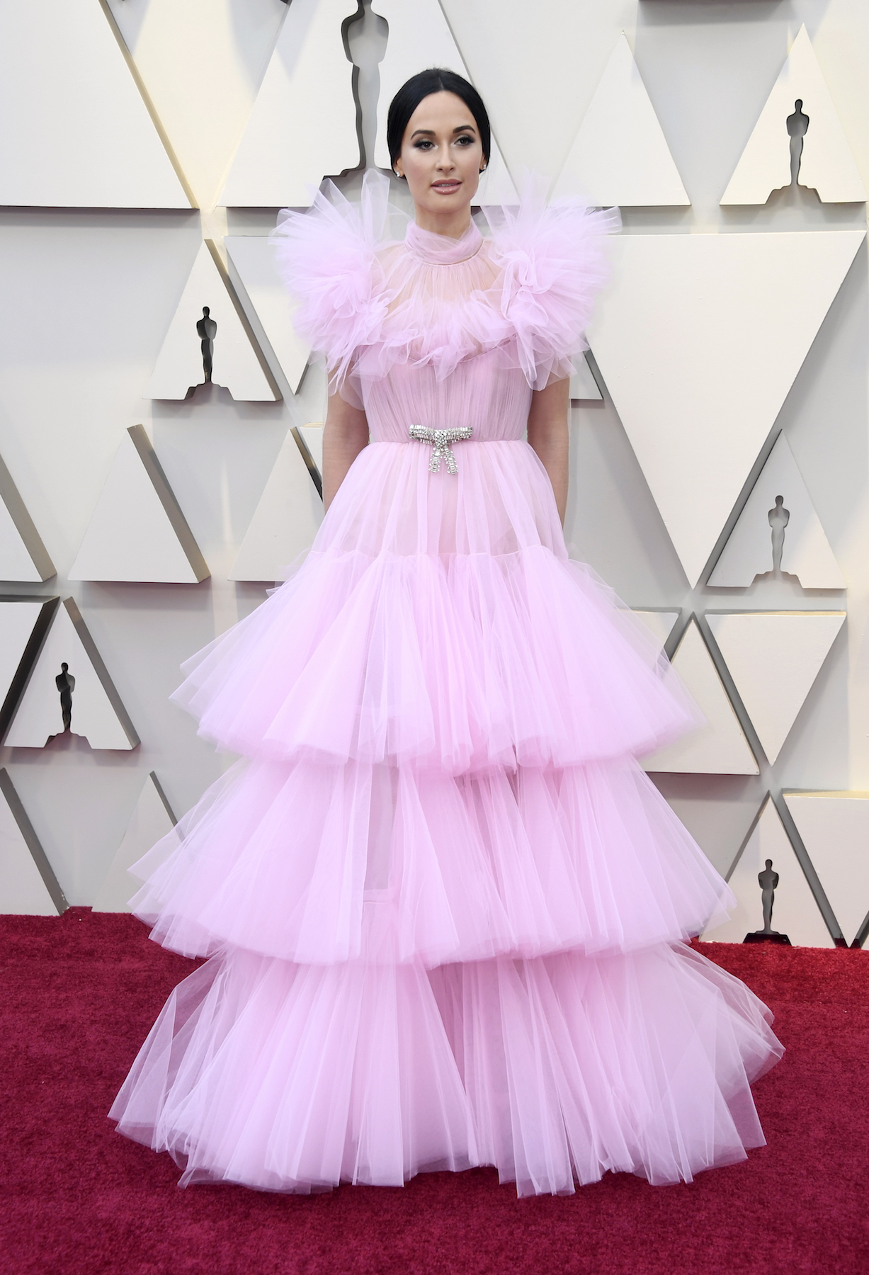 Oscars Pink Trend 2019, Kacey Musgraves pink tulle gown