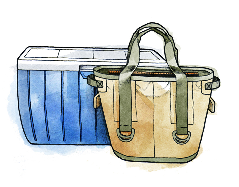 How to Pack a Cooler: Match the Container to the Outing