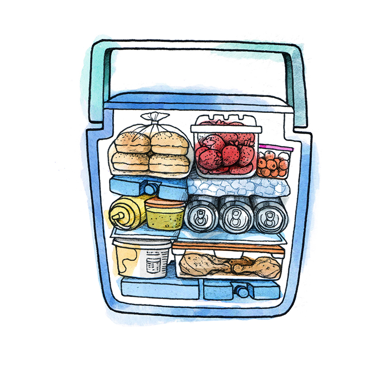 How to Pack a Cooler: Pack Strategically