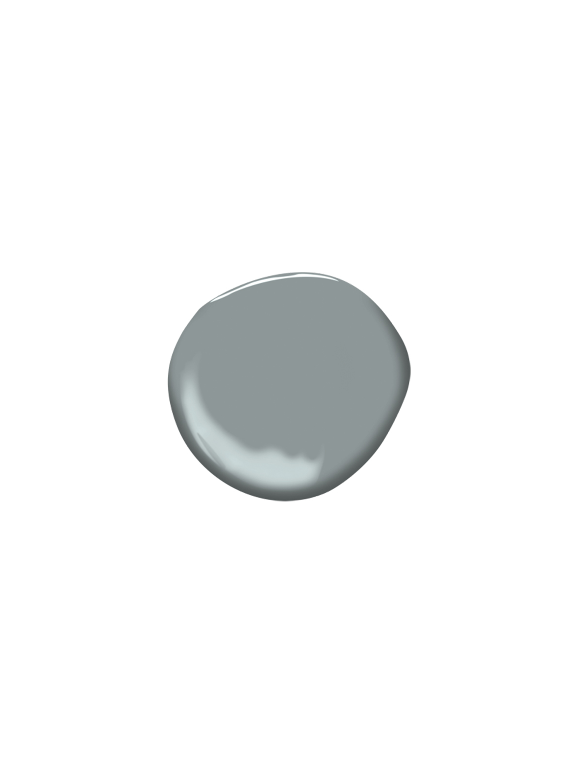 Swatch of Brewster Gray, by Benjamin Moore