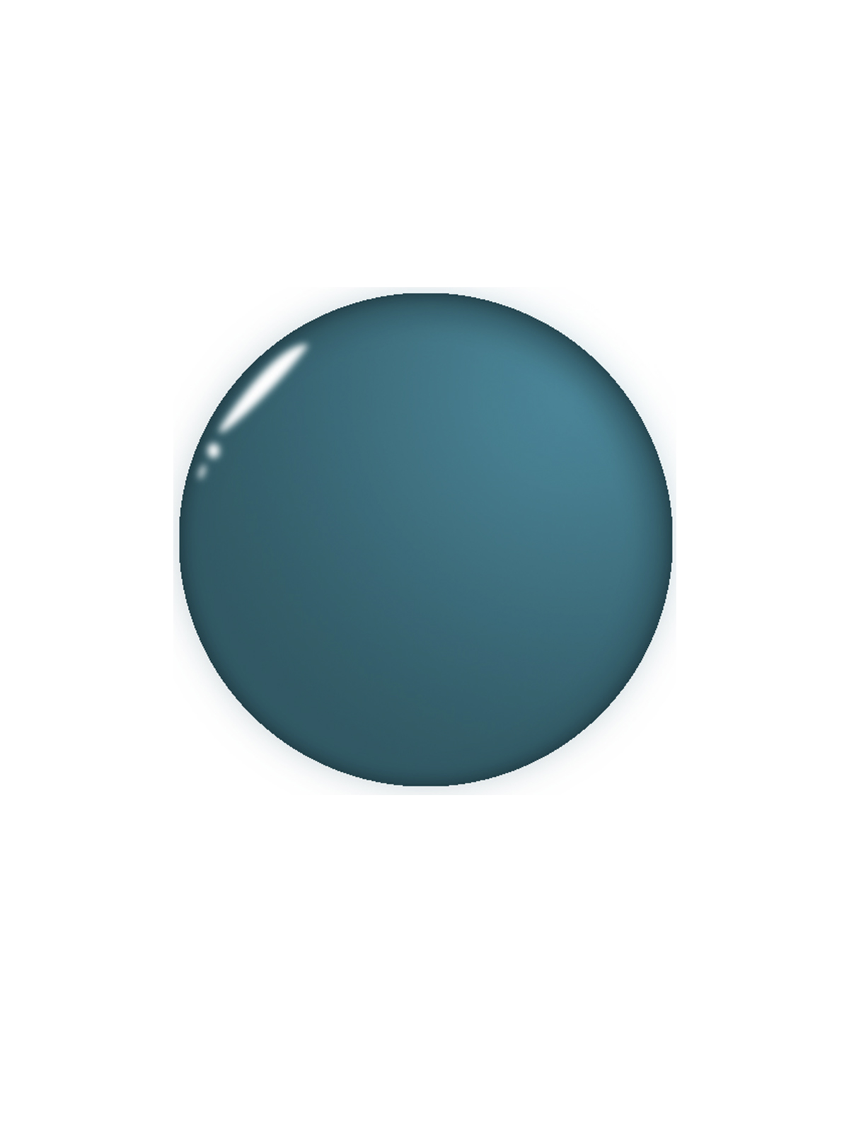 Paint swatch of Galápagos Turquoise by Benjamin Moore