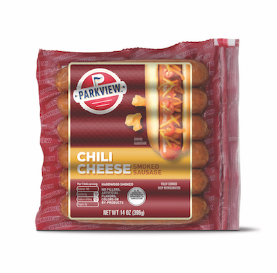 Parkview Chili Cheese Sausage