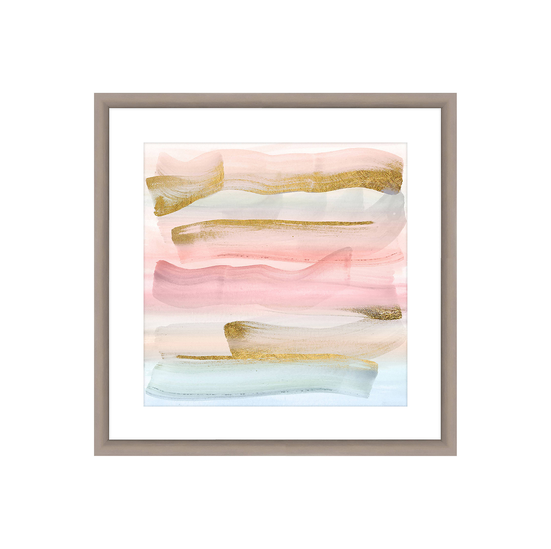 Pastel Paint Brushes Wall Art