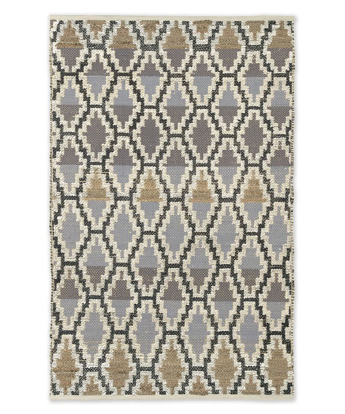 West Elm Patterned Rug