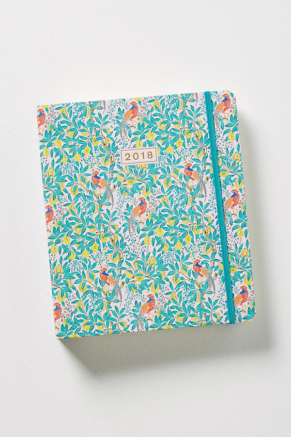 Peacock Orchid 2017-2018 Planner